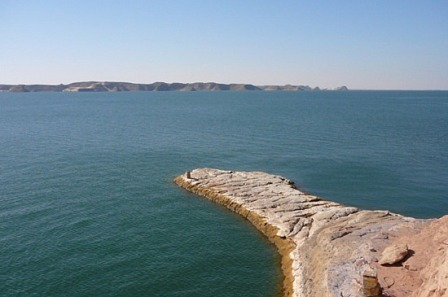 Lake Nasser in Aswan