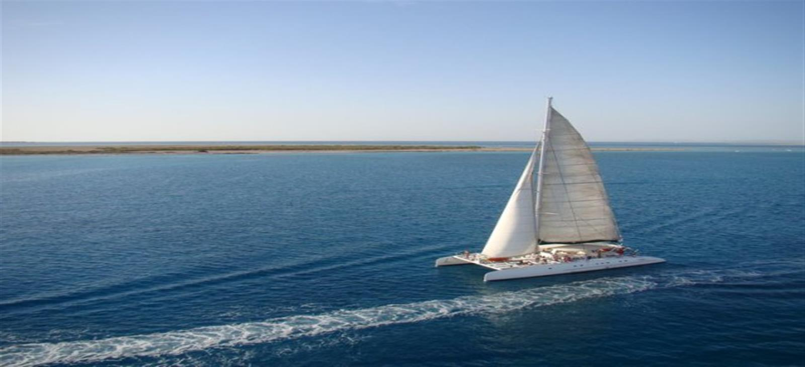 Catamaran Sailing Trip from Hurghada