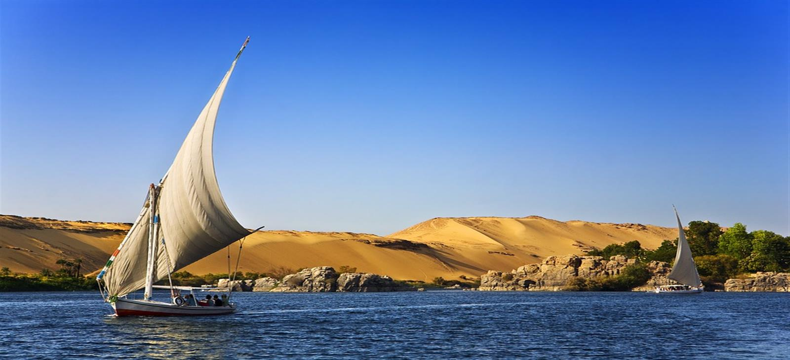 aswan tour by felucca