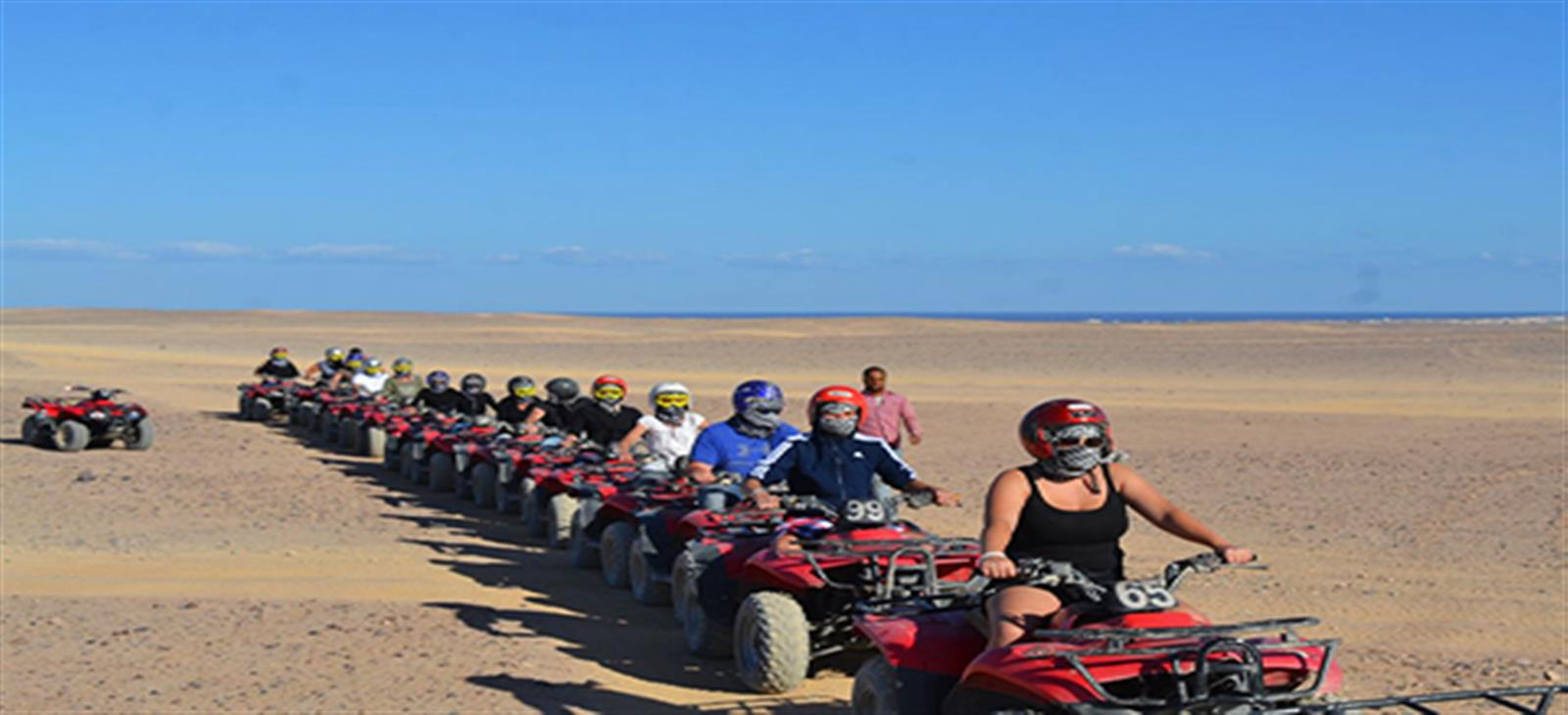 safari by bikes tour from sharm marina