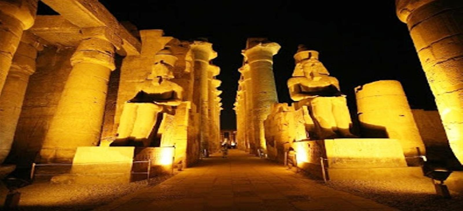 sound and light show luxor egypt