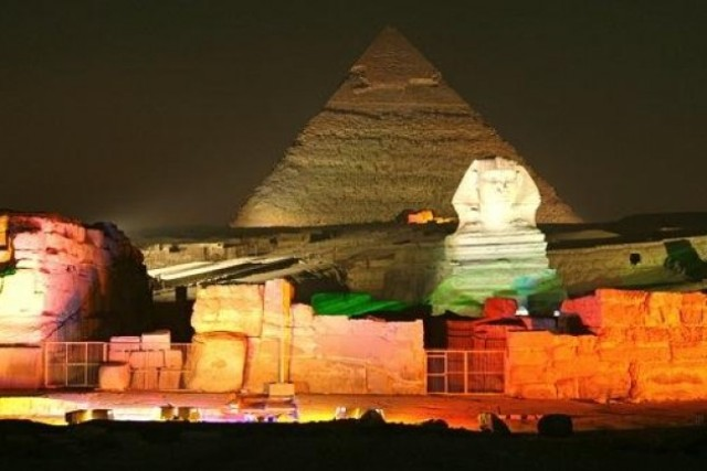Sound & Light at Giza Pyramids